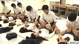 5:25: Splendid schoolgirl fucked by teacher and instructor
