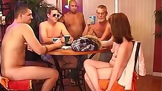 Wife fucked by neighbour gangbang and fucked - 10:59