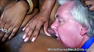7:52: Femdom Kristen Kane black screwed on tits and rode a spear
