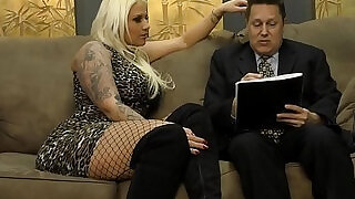 8:00: Lucky Turns Her Husband Into Her Cripple Slave Lucky B