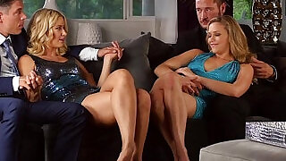 Jizz swapping ho 4some - 10:00