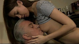 6:00: The little bitch anal strapon fuck with a big cock