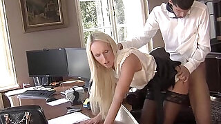 MAGMA FILM Fucking the office secretary at xxx sexy porn
