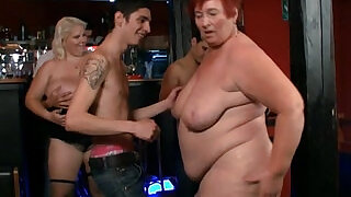 Three fatties join dirty party - 6:00