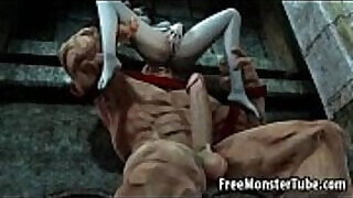 3:00: Foxy babe is getting anal fucked hard by The Juggernautnoutvsdumino high