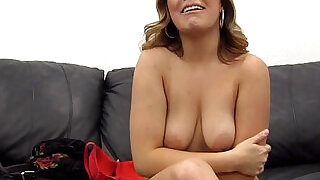 13:00: Tinder MILF Slut Assfuck Painal Creampie on Backroom Casting Couch