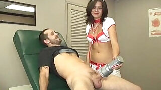 The Sexy Nurse And Her Toy - 4:00