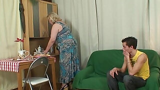 6:00: Huge old mother boy fucking action