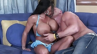 28:00: Lustfull big tits milf stepmom likes to swallow enormous dick till c