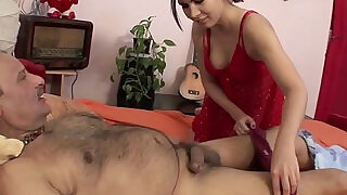 DirtyStepDaughter Taking Care Of My Sick Stepdad - 12:00