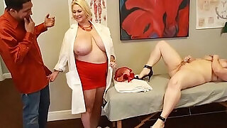 Busty doctor fucks sexy nikky wilder and stud - 5:00