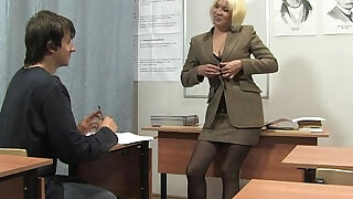 21:00: Russian mature teacher Nadezhda mature teachers orgies