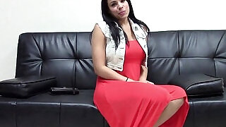 9:00: Hot Latina Fucking Her Casting Agent