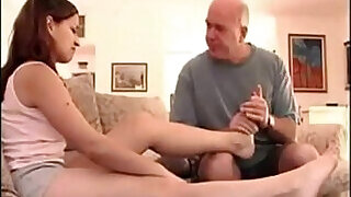 19:00: Girl with daddy issues and sexy feet