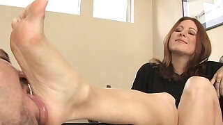 5:00: Shoe worship and Foot Fetish and Foot Smelling