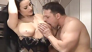 6:00: Busty Brunette Claudia Takes A Ride On Cock