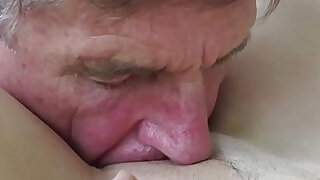 6:00: Old Young Teen Blowjob Deepthroat and Cumshot After Fucking