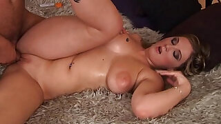Horny with big naturals gets drilled - 8:00