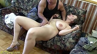 Alexis Texas for busty german MILF sucking his big dick - 12:39