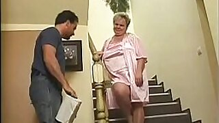 Milky Granny punished with tat - 16:07