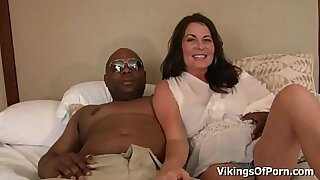 Female Milf Takes First Black Cock Video - 12:41