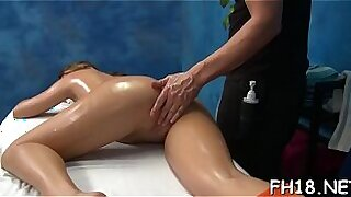 Tucked Reba Dean Massages Her Mouth and Vibrates - 5:26